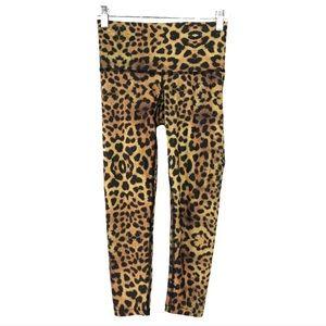 Teeki x-small, rare crop leggings, cheetah.🐆